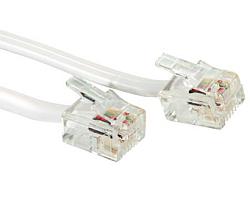 Roline telefonski kabel RJ-12 6P4C, 15m