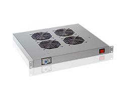 Tecnosteel ventilacija za ormar 4× ventilator sa termostatom, 19