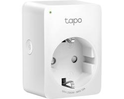 TP-Link WiFi Smart Plug, 2.4GHz, 802.11b/g/n, BT4.2, Tapo app, Wi-Fi kontrola, Timer/Schedule postavke, Glasovna kotrola Amazon Alexa/Google Assistant