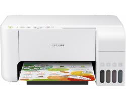 Epson EcoTank L3156 Print/Scan/Copy A4 pisač, 33/15 str/min. c/b, 5760×1440dpi, USB/WiFi, bijeli (C11CG86413)