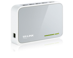 TP-Link 5-port mini Desktop preklopnik (Switch), 5×10/100M RJ45 ports, plastično kućište