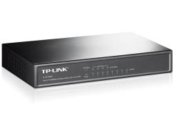 TP-Link 8-port Desktop preklopnik (Switch), 8×10/100M RJ45 ports + 4 PoE ports, metalno kućište (57W)