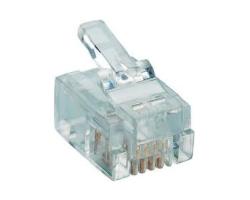 Modularni utikač 6P/4C (RJ11) za plosnati kabel