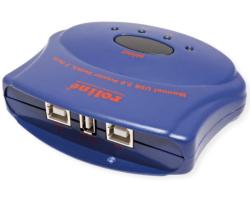 Roline printer preklopnik 2-porta USB2.0, manualni